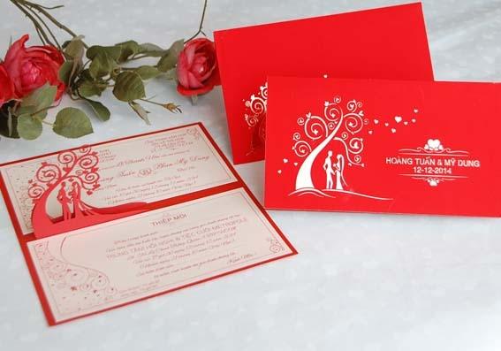 Thiệp cưới Pop-up