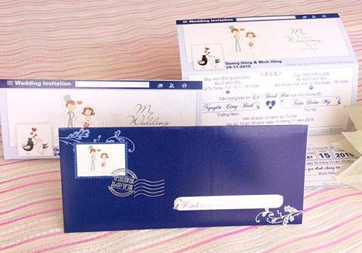 Thiệp cưới FaceBook