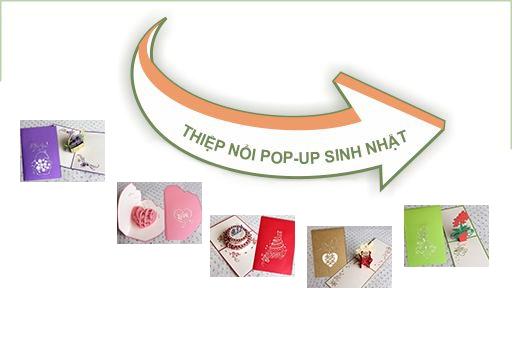 Thiệp nổi Pop-up SN