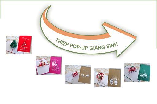 Thiệp Pop-up G.Sinh