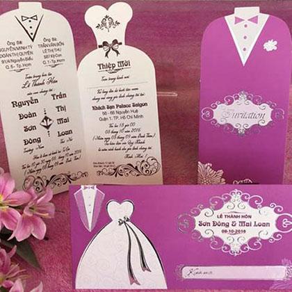 Thiệp cưới đợt 14