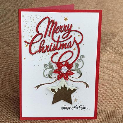 Thiệp Thủ Công Noel Đại Lớn
