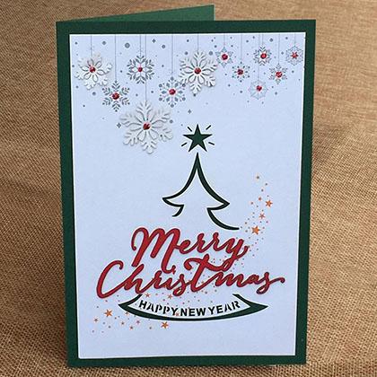 Thiệp Thủ Công Noel Lớn