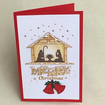 Thiệp Thủ Công Noel Trung