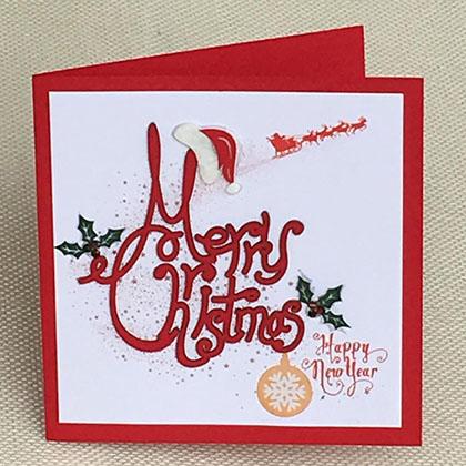 Thiệp Thủ Công Noel Nhỏ