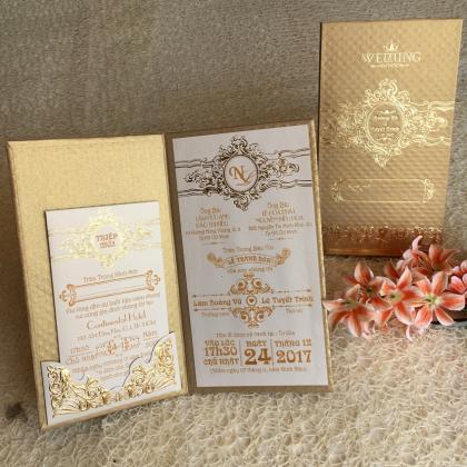 Thiệp Cưới Kiểu Sách - Xu hướng mới cho thiệp cưới 2017