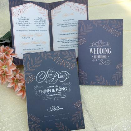 Thiệp cưới Offset Lớn