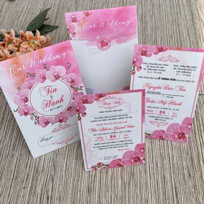 Thiệp cưới Offset