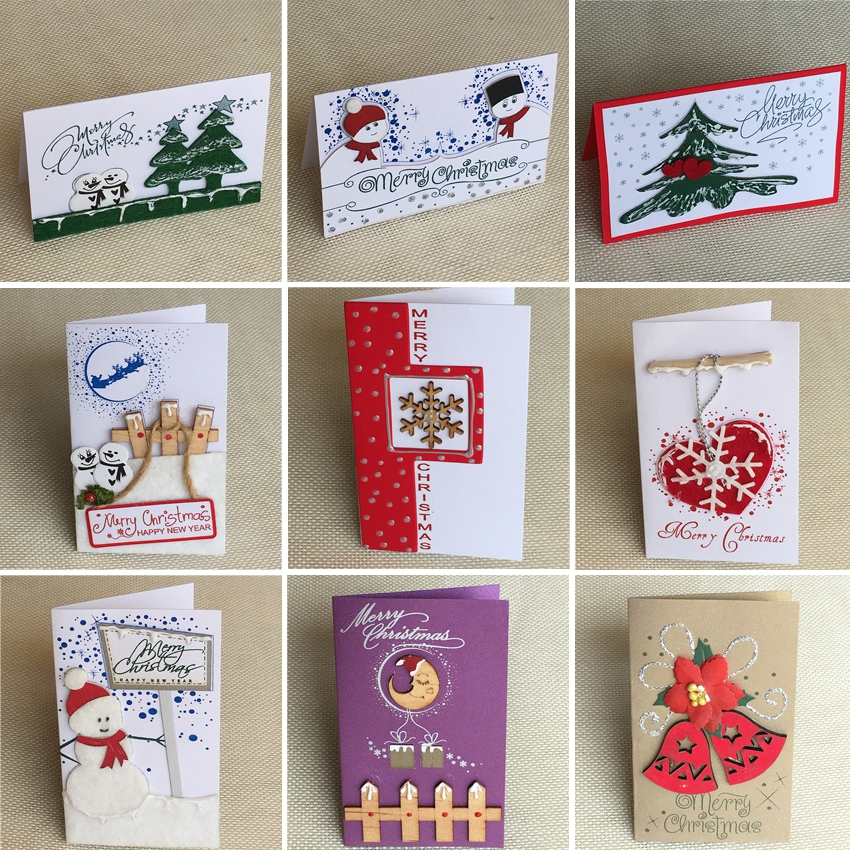 Thiệp Thủ Công Noel Mini