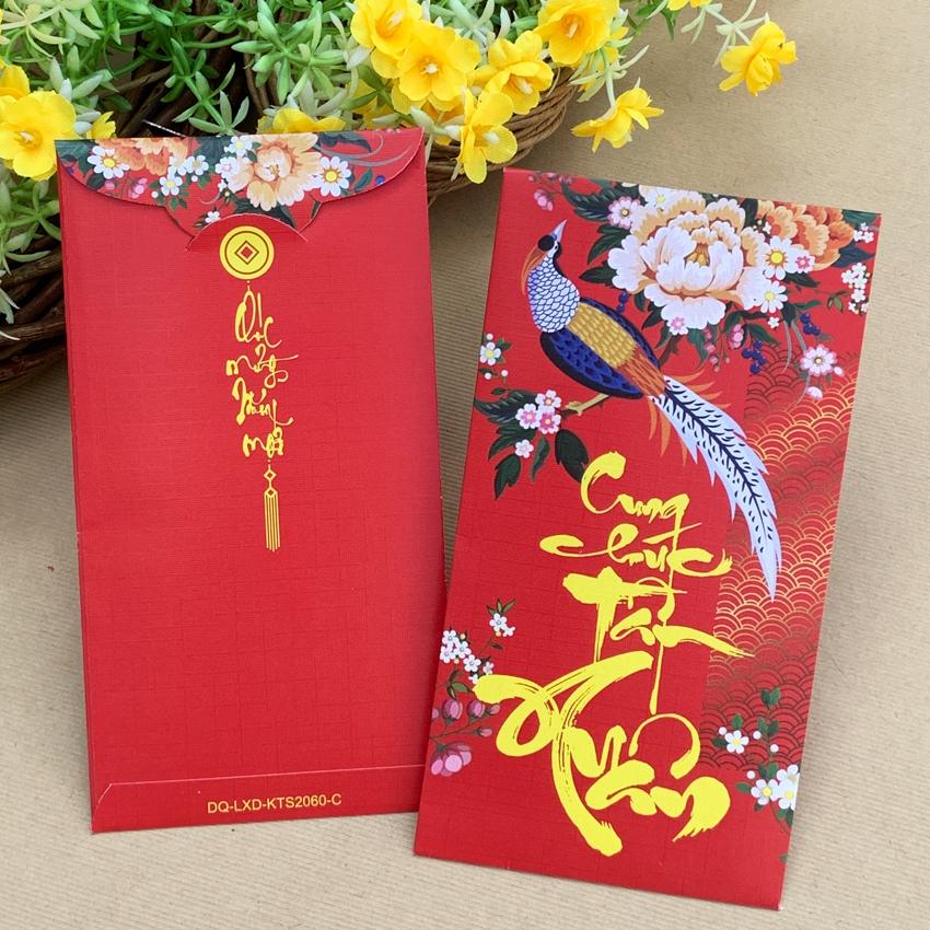 Bao Lì Xì Đại 9x17cm-In KTS