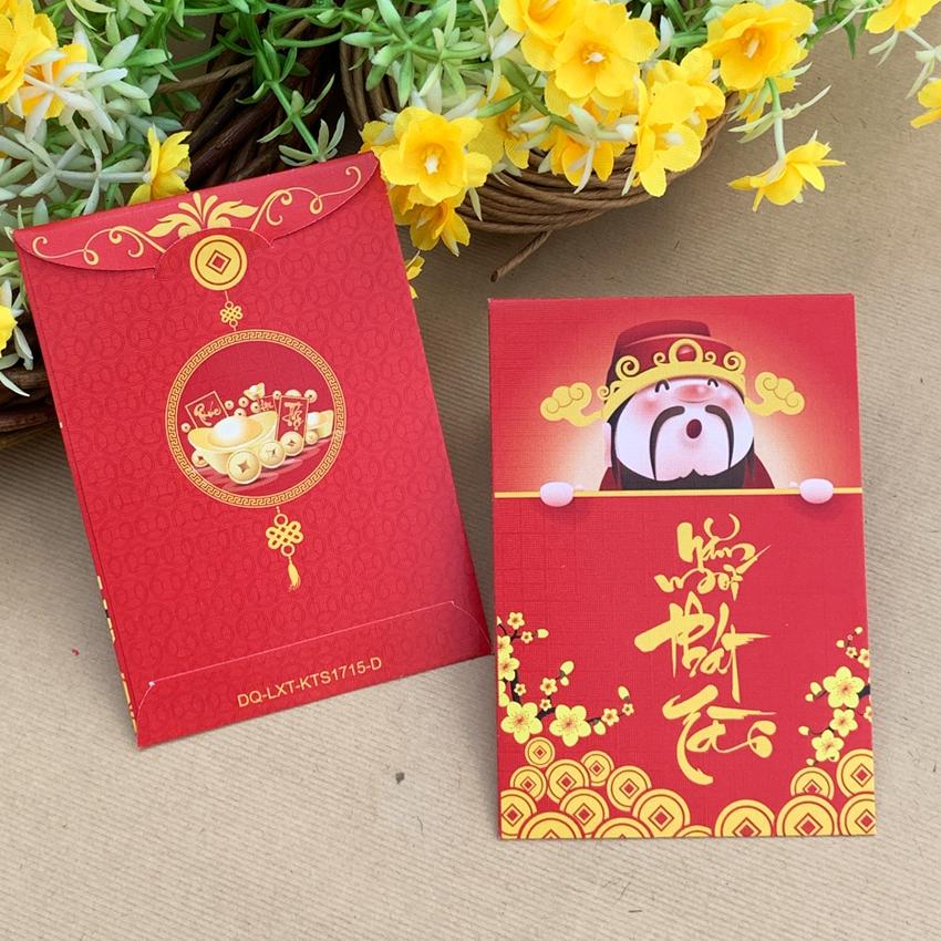 Bao Lì Xì Trung 8X11.5cm - IN KTS