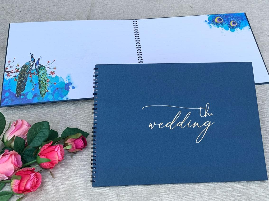 Sổ Ký Tên Tiệc cưới -02
